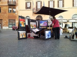 Artists 2012 Piazza Navona