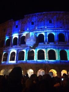 colosseo blu