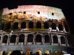 colosseo marrone