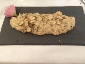 risotto tartufo